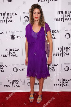"""Artist Lola Schnabel attends a screening of """"Julian Schnabel: A Private Portrait"""" at the SVA Theatre during the 2017 Tribeca Film Festival on in New York"""