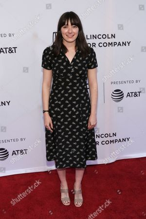 "Director Sophie Brooks attends a screening of ""The Boy Downstairs"" at the SVA Theatre during the 2017 Tribeca Film Festival on in New York"