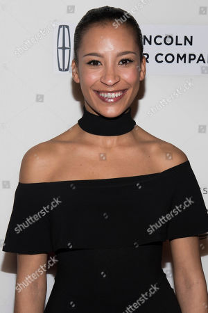 """Taylor Rae Almonte attends """"The Dinner"""" premiere during the 2017 Tribeca Film Festival, in New York"""
