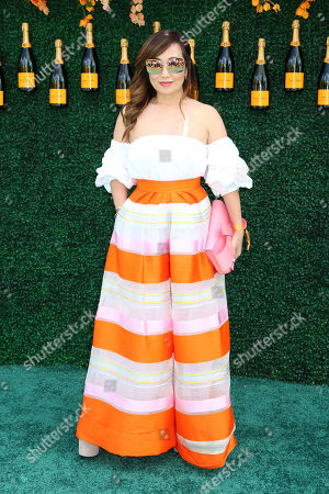 Tina Craig attends the Veuve Clicquot Polo Classic at Liberty State Park, in New Jersey