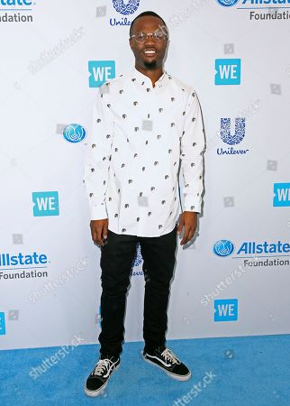Editorial image of 2017 WE Day California - Arrivals, Inglewood, USA - 26 Apr 2017