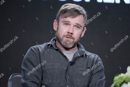 "Ricky Schroder attends the ""AUDIENCE Documentaries"" panel at the Direct TV portion of the 2017 Winter Television Critics Association press tour in, in Pasadena, Calif"