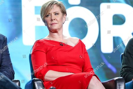 """Romy Rosemont attends the """"Beyond"""" panel at the Disney/ABC portion of the 2017 Winter Television Critics Association press tour, in Pasadena, Calif"""