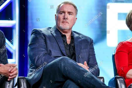 """Michael McGrady attends the """"Beyond"""" panel at the Disney/ABC portion of the 2017 Winter Television Critics Association press tour, in Pasadena, Calif"""