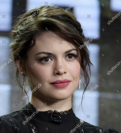 "Conor Leslie attends the ""Shots Fired"" panel at the FOX portion of the 2017 Winter Television Critics Association press tour, in Pasadena, Calif"