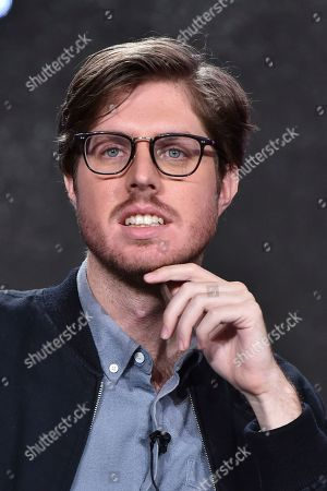 """Stock Image of Thomas Ward attends the """"Please Like Me"""" panel at the Hulu portion of the 2017 Winter Television Critics Association press tour on in Pasadena, Calif"""