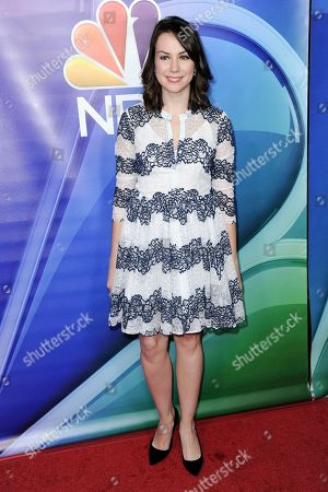 Tracey Wigfield attends the NBCUniversal portion of the 2017 Winter Television Critics Association press tour, in Pasadena, Calif