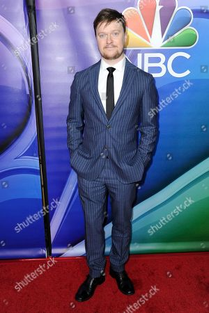 Steven Boyer attends the NBCUniversal portion of the 2017 Winter Television Critics Association press tour, in Pasadena, Calif