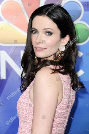 Bitsie Tulloch attends the NBCUniversal portion of the 2017 Winter Television Critics Association press tour, in Pasadena, Calif