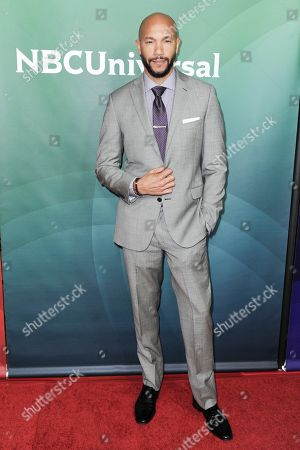 Stephen Bishop attends the NBCUniversal portion of the 2017 Winter Television Critics Association press tour, in Pasadena, Calif