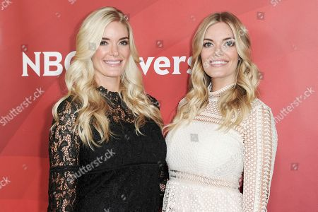 Ashley Wirkus and Lauren Wirkus attend the NBCUniversal portion of the 2017 Winter Television Critics Association press tour, in Pasadena, Calif
