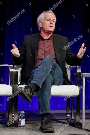 """Stock Image of Bob Hercules speaks at the PBS's American Masters """"Maya Angelou: And Still I Rise"""" panel at the 2017 Television Critics Association press tour, in Pasadena, Calif"""