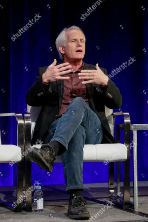 """Stock Picture of Bob Hercules speaks at the PBS's American Masters """"Maya Angelou: And Still I Rise"""" panel at the 2017 Television Critics Association press tour, in Pasadena, Calif"""