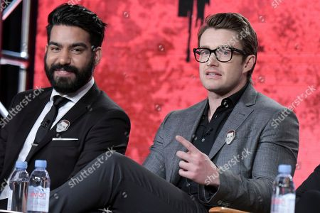 Editorial image of 2017 Winter TCA - The CW, Pasadena, USA - 8 Jan 2017