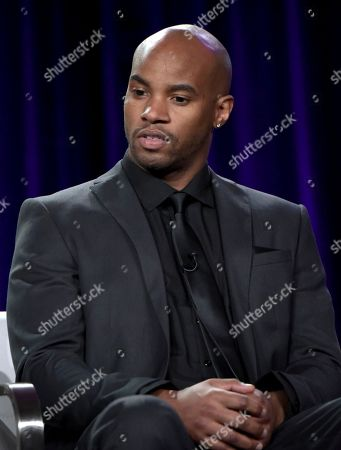 """Stock Image of Antoine Harris attends """"The Breaks"""" panel at Viacom's VH1 portion of the Winter Television Critics Association press tour, in Pasadena, Calif"""