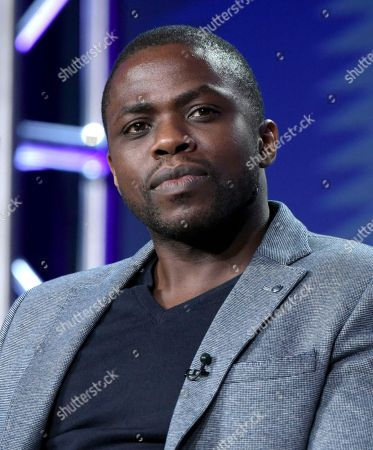 """Stock Photo of Okezie Morro attends """"The Mist"""" panel at Viacom's Spike TV portion of the Winter Television Critics Association press tour, in Pasadena, Calif"""