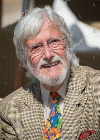 Jean-Michel Cousteau poses for photographers during the photo call for the film Wonders of the Sea 3D at the 70th international film festival, Cannes, southern France