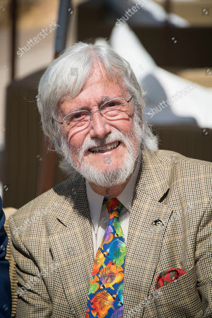 Director Jean-Michel Cousteau poses for photographers during the photo call for the film Wonders of the Sea 3D at the 70th international film festival, Cannes, southern France