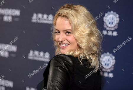 Gage Golightly arrives at the 21st annual Huading Global Film Awards at The Theatre at Ace Hotel, in Los Angeles