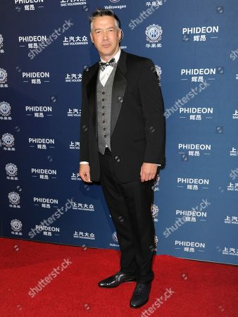 Russell Wong arrives at the 21st annual Huading Global Film Awards at The Theatre at Ace Hotel, in Los Angeles