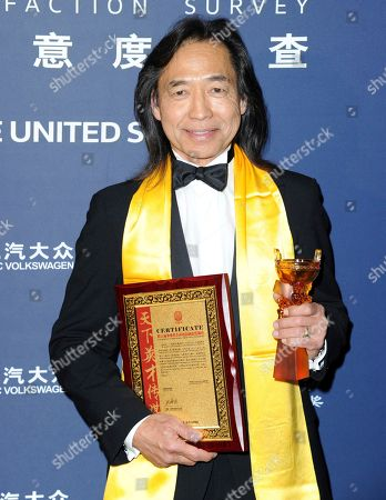 Editorial photo of 21st Annual Huading Global Film Awards - Press Room, Los Angeles, USA - 15 Dec 2016