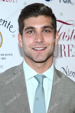 """David Bernon attends the 22nd Annual """"Taste For A Cure"""" held at Beverly Wilshire Hotel, in Beverly Hills, Calif"""
