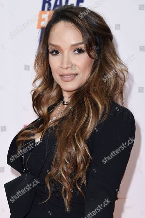 Mayte Garcia attends the 24th Annual Race to Erase MS Gala at the Beverly Hilton, in Beverly Hills, Calif