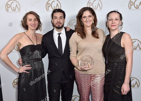 Editorial picture of 28th Annual Producers Guild Awards - Inside, Beverly Hills, USA - 28 Jan 2017