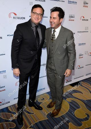 Stock Picture of Bob Saget, left, and Jonathan Silverman attend the 30th annual Scleroderma Foundation Benefit at the Beverly Wilshire hotel, in Beverly Hills, Calif