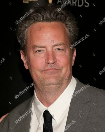 Actor Matthew Perry attends the 32nd Annual Lucille Lortel Awards at the NYU Skirball Center, in New York