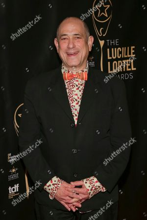 David Dorfman attends the 32nd Annual Lucille Lortel Awards at the NYU Skirball Center, in New York