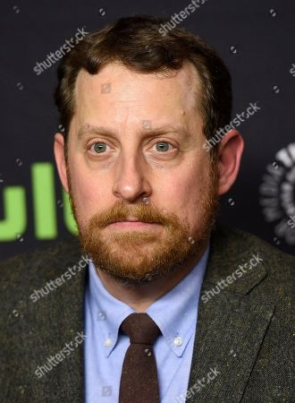 "Executive producer Scott M. Gimple attends the 34th annual PaleyFest: ""The Walking Dead"" event at the Dolby Theatre, in Los Angeles"