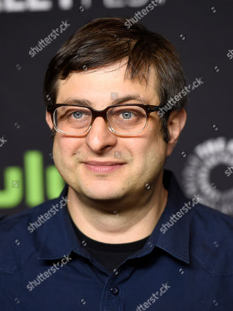 """Stock Image of Eugene Mirman, a voice actor in the animated television series """"Bob's Burgers,"""" poses at the 34th Annual Paleyfest at the Dolby Theatre, in Los Angeles"""