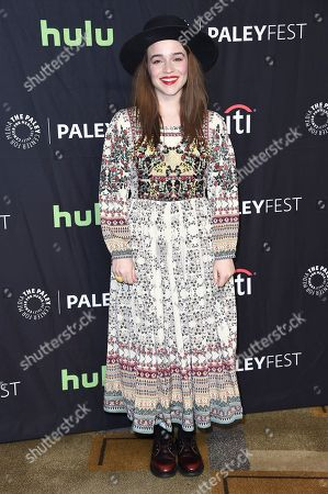 """Renee Felice Smith attends the 34th annual PaleyFest: """"NCIS: Los Angeles"""" event at the Dolby Theatre, in Los Angeles"""