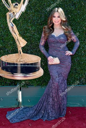 Lilly Melgar arrives at the 44th Annual Daytime Emmy Awards at the Pasadena Civic Center, in Pasadena, Calif