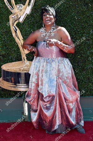 Anna Maria Horsford arrives at the 44th Annual Daytime Emmy Awards at the Pasadena Civic Center, in Pasadena, Calif