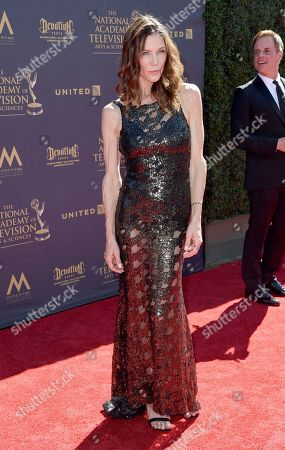 Stacy Haiduk arrives at the 44th Annual Daytime Emmy Awards at the Pasadena Civic Center, in Pasadena, Calif