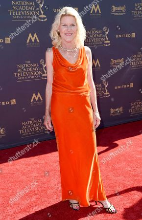 Alley Mills arrives at the 44th Annual Daytime Emmy Awards at the Pasadena Civic Center, in Pasadena, Calif
