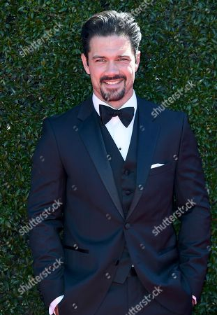 Ryan Paevey arrives at the 44th Annual Daytime Emmy Awards at the Pasadena Civic Center, in Pasadena, Calif