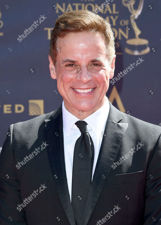 Christian LeBlanc arrives at the 44th Annual Daytime Emmy Awards at the Pasadena Civic Center, in Pasadena, Calif