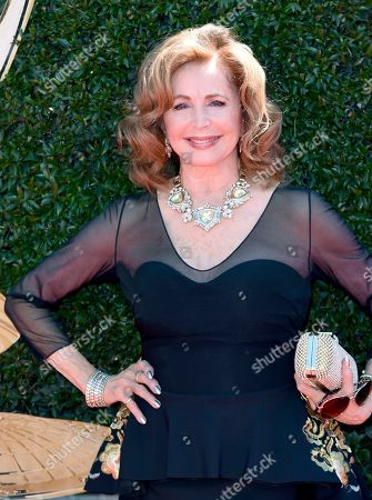 Suzanne Rogers arrives at the 44th Annual Daytime Emmy Awards at the Pasadena Civic Center, in Pasadena, Calif