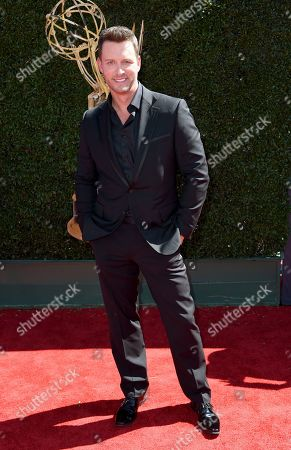 Eric Martsolf arrives at the 44th Annual Daytime Emmy Awards at the Pasadena Civic Center, in Pasadena, Calif