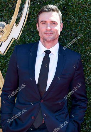 Daniel Goddard arrives at the 44th Annual Daytime Emmy Awards at the Pasadena Civic Center, in Pasadena, Calif
