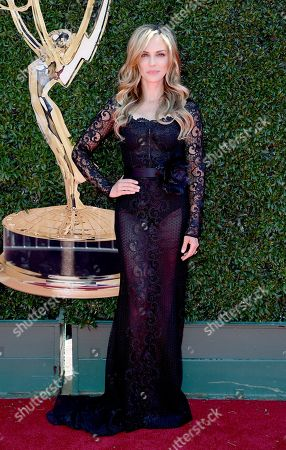 Kelly Sullivan arrives at the 44th Annual Daytime Emmy Awards at the Pasadena Civic Center, in Pasadena, Calif