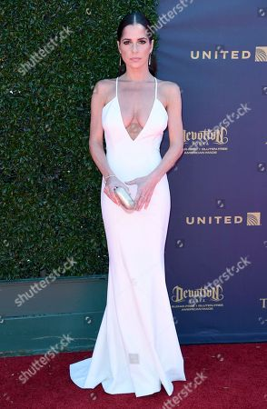 Stock Photo of Kelly Monaco arrives at the 44th Annual Daytime Emmy Awards at the Pasadena Civic Center, in Pasadena, Calif