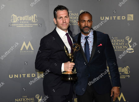Editorial photo of 44th Annual Daytime Emmy Awards - Press Room, Pasadena, USA - 30 Apr 2017