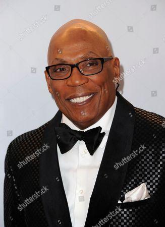 Paris Barclay arrives at the 48th annual NAACP Image Awards at the Pasadena Civic Auditorium, in Pasadena, Calif