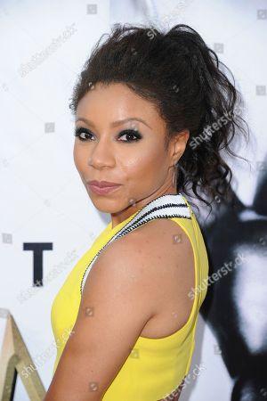 Stock Photo of Shalita Grant arrives at the 48th annual NAACP Image Awards at the Pasadena Civic Auditorium, in Pasadena, Calif