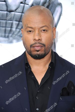 Morocco Omari arrives at the 48th annual NAACP Image Awards at the Pasadena Civic Auditorium, in Pasadena, Calif