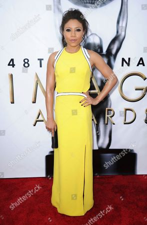 Editorial picture of 48th Annual NAACP Image Awards - Arrivals, Pasadena, USA - 11 Feb 2017